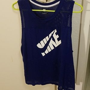 Nike mesh muscle tank